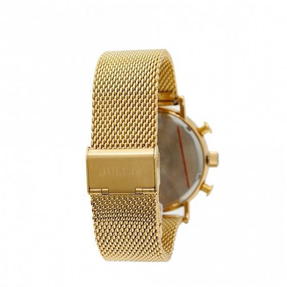Đồng hồ nam Julius 3 máy jah-090c ( vàng )