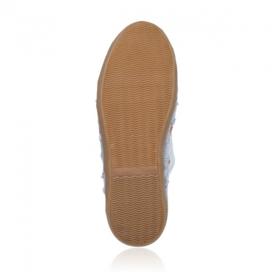 Giày sneaker nữ Sutumi O002 - Xanh nhạt