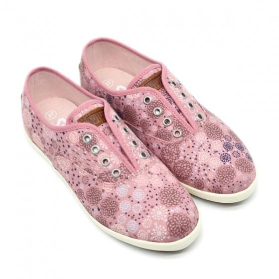 Giày sneaker nữ Sutumi O002 - Bông hồng