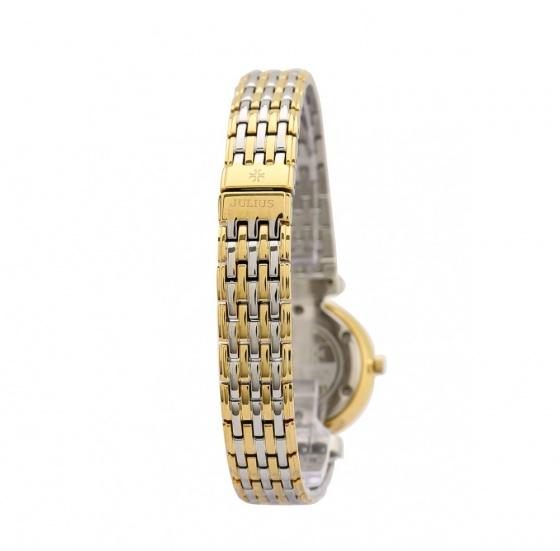 Đồng hồ nữ Julius limiited Hàn Quốc dây thép JAL-032LC JU1186 (vàng)