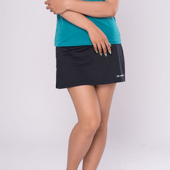 Chân váy thun thể thao nữ Jartazi (Ladies Skirt + Tight) JA9002W (xanh đen)
