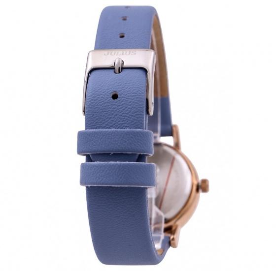 Đồng hồ nữ Julius Hàn Quốc dây da JA-1012C (xanh dương)