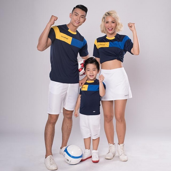 Combo 3 áo thun thể thao gia đình Cordoba (3 Cordoba T-Shirt (Men, Women and kids))JA4040/JK4040