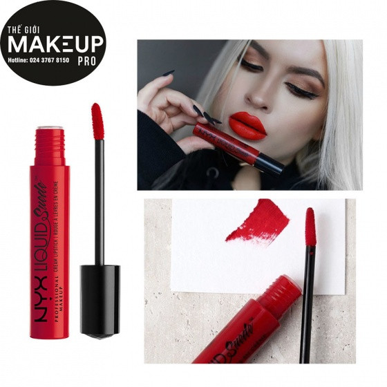 Son lì dạng kem NYX Liquid Suede Cream Lipstick LSCL11 Kitten Heels