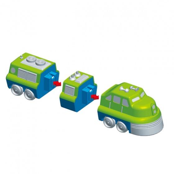 Bộ xếp hình nam châm phương tiện đa năng 1 POPULAR-60301