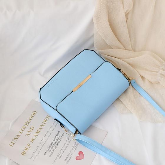 Túi đeo chéo nữ Vanoca VN151-Xanh Ngọc