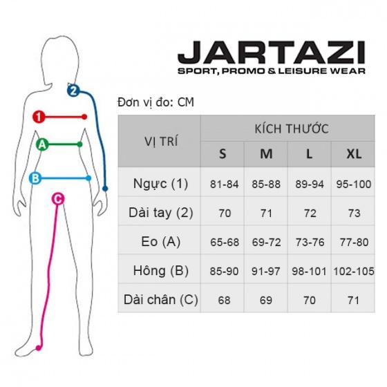 Áo thun nữ không cổ original Jartazi (original T-shirt) JW19-0011R