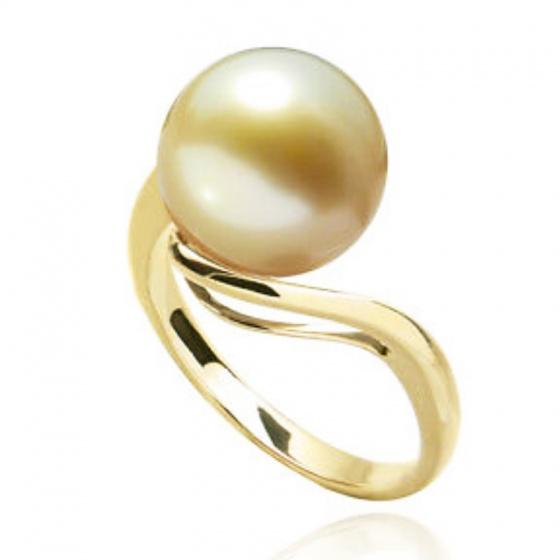 Nhẫn ngọc trai vàng 14k - NN01020