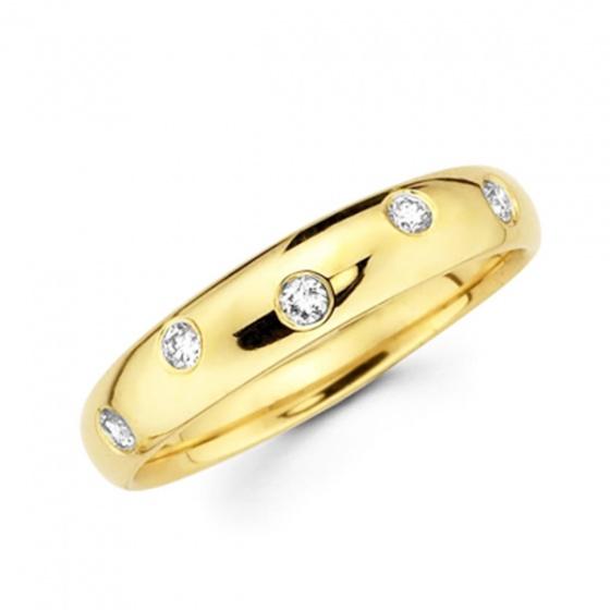 Nhẫn nữ vàng 14k đá kim cưong nhân tao - VTRG0729