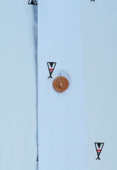 Bộ 2 áo sơ mi tay ngắn họa tiết Hàn quốc The Shirt Studio TD5