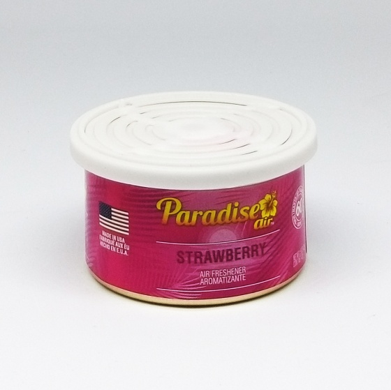 Sáp thơm ô tô Paradise Air Fresh 42g - Strawberry - Combo 2 hộp