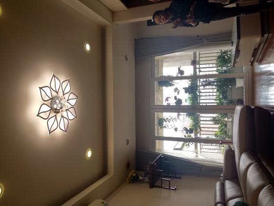 Đèn mâm ốp trần pha lê 07 - OPLD07-8 - Đèn trang trí Homelight