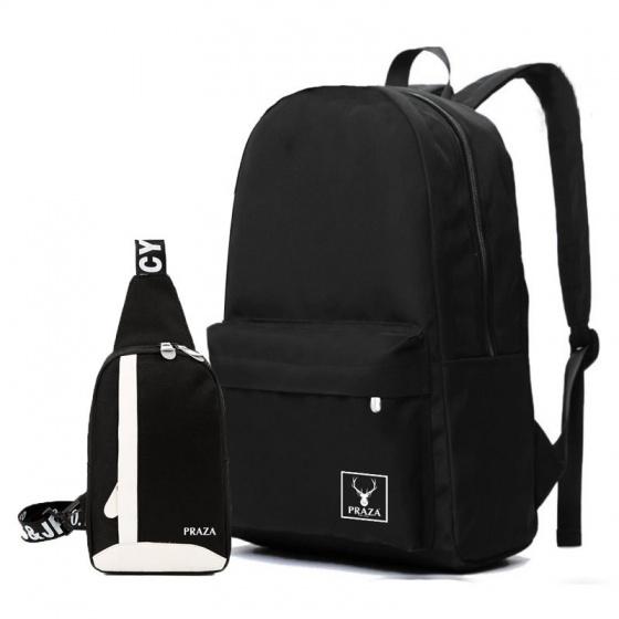 Set balo teen và túi đeo tiện ích Praza - BL140DC090