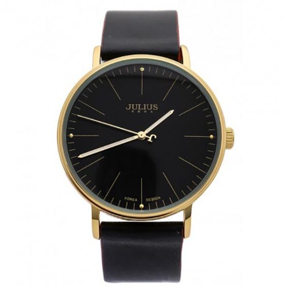 Đồng hồ nam Julius JA-814MB JU1005 Hàn Quốc dây da (đen)
