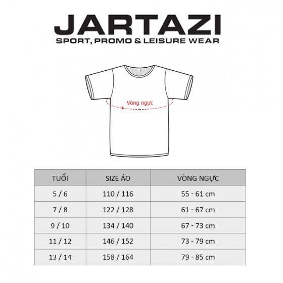 Áo thun thể thao tay dài trẻ em Jartazi (Shirt Bogota) JK3042BR
