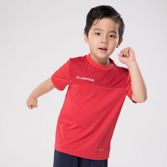 Áo thun không cổ trẻ em Jartazi (Poly T-Shirt Bari – Kid) JA4090-D1