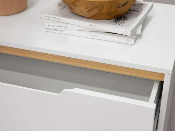 Tủ trưng bày Mari gỗ cao su - Cozino