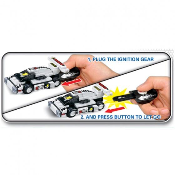 Bộ xếp hình xe đua thể thức 1 A-  WOMA-C0301A