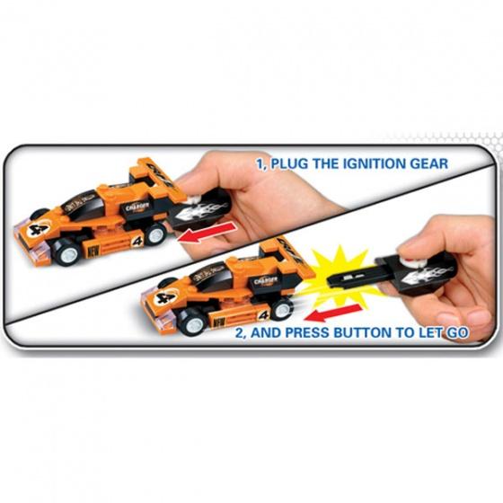 Bộ xếp hình xe đua thể thức 1 B-  WOMA-C0301B