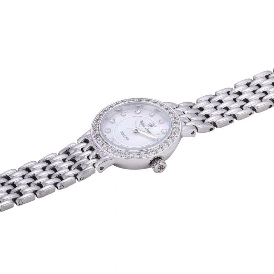 Đồng hồ nữ chính hãng Royal Crown 3650L dây thép bạc