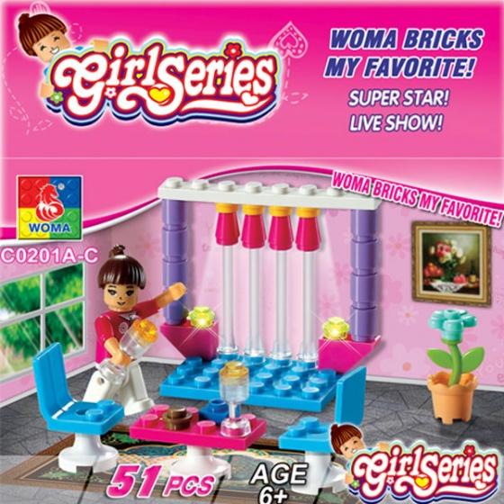 Bộ xếp hình phòng khách C-WOMA - C0201C
