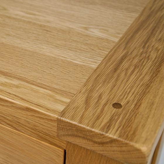 Tủ giầy 3 cánh chấm bi IBB31 gỗ sồi 1m