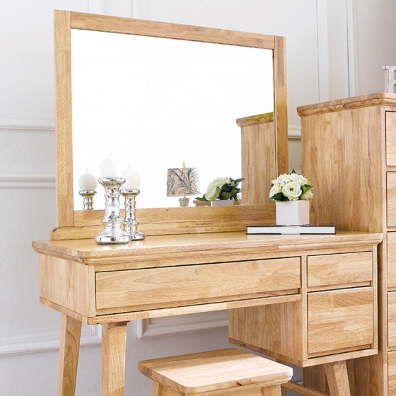 Bộ bàn trang điểm NB-Natural gỗ tự nhiên
