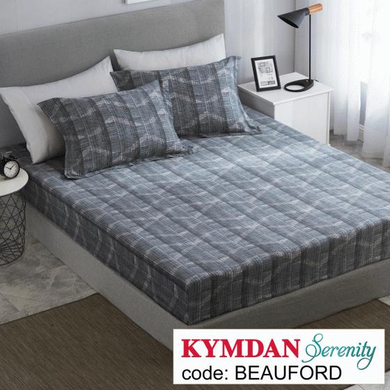 Drap Kymdan Serenity 160 x 200 cm (drap + áo gối nằm) BEAUFORD