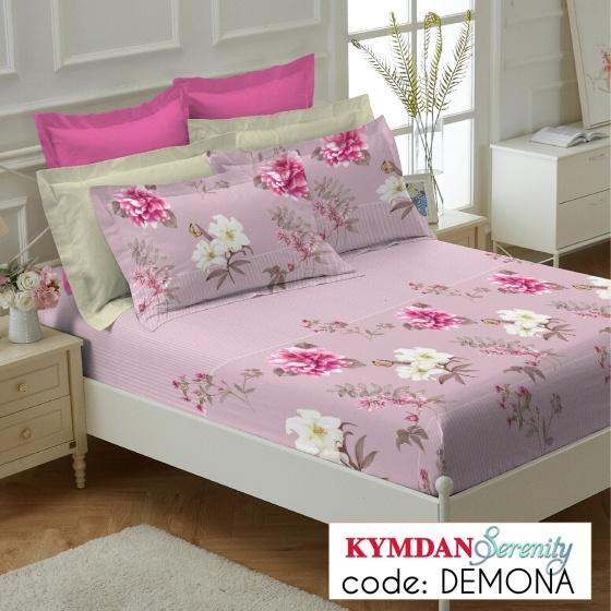 Drap Kymdan Serenity 160 x 200 cm (drap + áo gối nằm) DEMONA