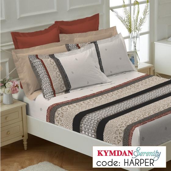Drap Kymdan Serenity 160 x 200 cm (drap + áo gối nằm) HARPER