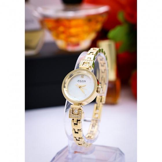 Đồng hồ nữ Julius Hàn Quốc dây thép JA-981B JU1236 (vàng)