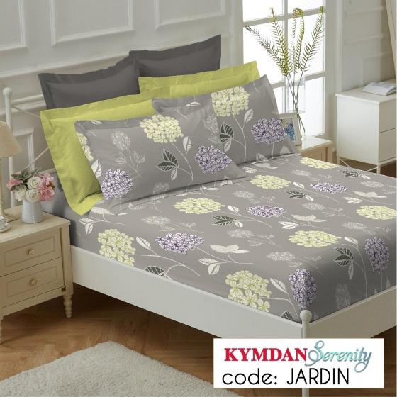 Drap Kymdan Serenity 160 x 200 cm (drap + áo gối nằm) JARDIN