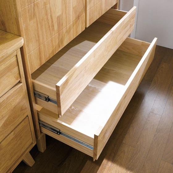 Tủ quần áo 2 cánh NB-Natural gỗ tự nhiên 1m