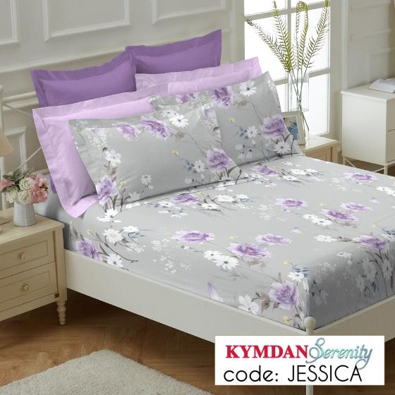 Drap Kymdan Serenity 180 x 200 cm (drap + áo gối nằm) JESSICA