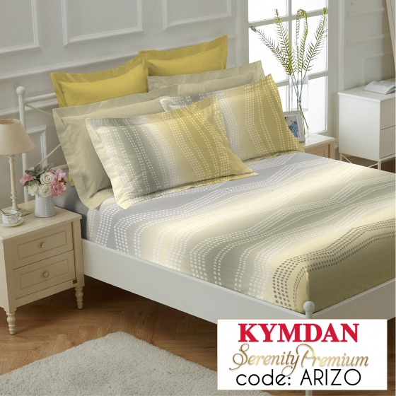 Drap Kymdan Serenity Premium 160 x 200 cm (drap + áo gối nằm) ARIZO