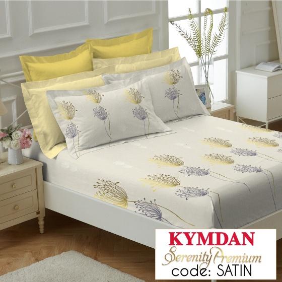 Drap Kymdan Serenity Premium 180 x 200 cm (drap + áo gối nằm) SATIN