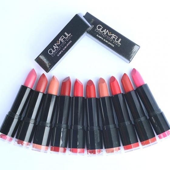 Son môi Glamful Glam Son sáp màu đỏ cherry Glamful Glam - L1