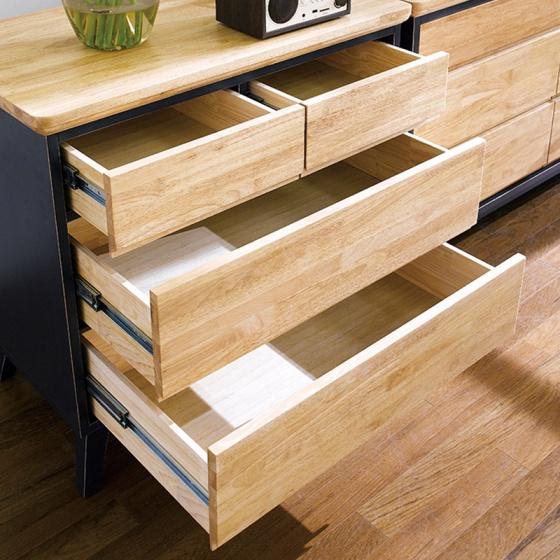 Tủ 4 ngăn kéo NB-Blue gỗ tự nhiên