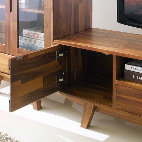 Tủ TV 2 cánh Coco gỗ tràm