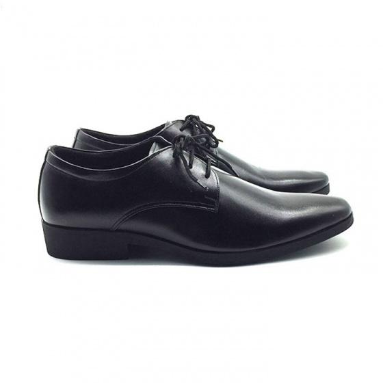 Giày tây công sở buộc dây nam  da bò cao cấp N1101BD Lucacy