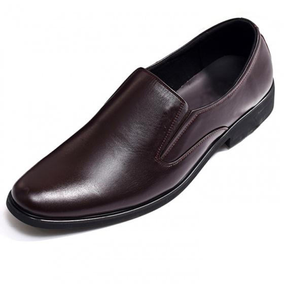 Giày lười công sở nam da bò nguyên tấm Th741MN Lucacy