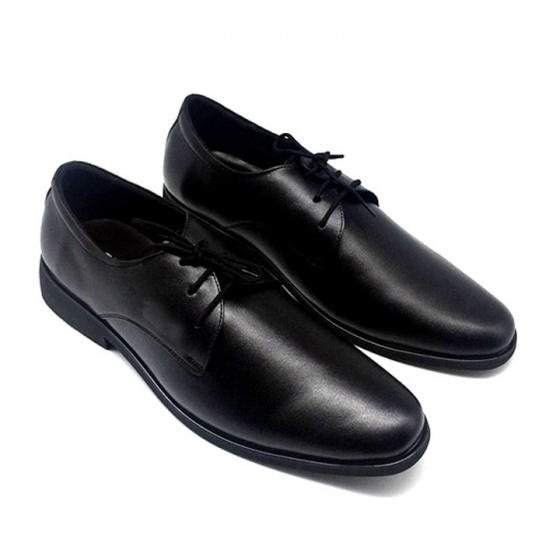 Giày công sở buộc dây nam da bò cao cấp TH741BD(đen) Lucacy