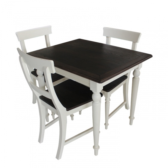 Bộ bàn ghế phòng ăn gỗ sồi Furnist Kitson