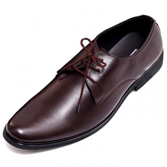 Giày công sở buộc dây nam da bò nguyên tấm cao cấp TH741BN Lucacy