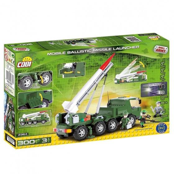 Bộ xếp hình trạm phóng tên lửa Cobi - 2364