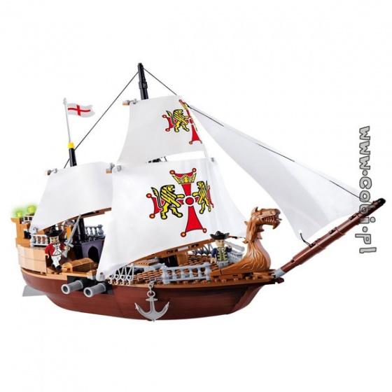Bộ xếp hình tàu Hoàng Gia Cobi - 6018