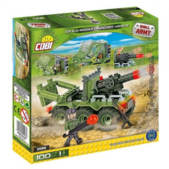 Bộ xếp hình xe phóng pháo Cobi - 2196