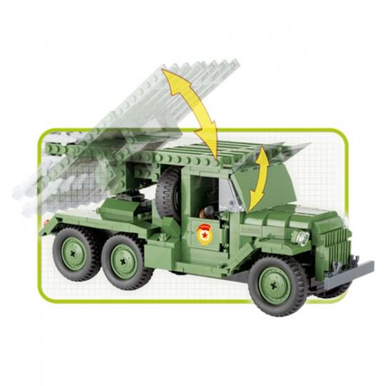 Đồ chơi lắp ráp xe tải quân sự Cobi - 2479