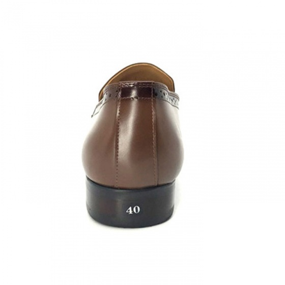Giày tây nam da bò nguyên tấm cao cấp N0105N Lucacy