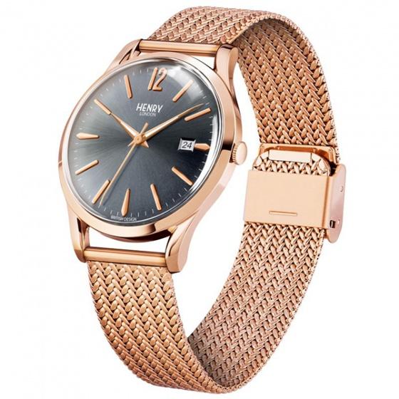 Đồng hồ đôi HL39-M-0118 – HL30-UM-0116 Henry London (nâu)